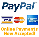 Payment by PayPal!